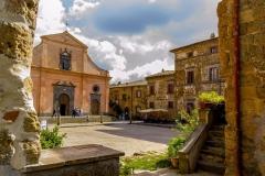 Bagnoregio - Piazza S. Donato a Civita
