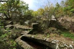 Soriano nel cimino - zona archeologica di Corviano