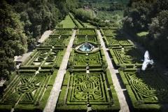 Vignanello - giardino del castello Ruspoli